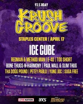 Krush Groove 2020 Line Up Announcement Feat. Ice Cube, Method Man, Redman, E-40, Too Short + MORE At Staples Center