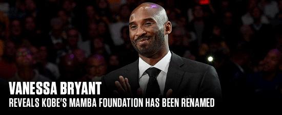 Vanessa Bryant Reveals Kobe's Mamba Foundation Has Been Renamed