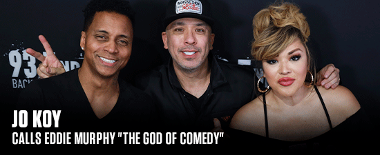 """Jo Koy Calls Eddie Murphy """"The God Of Comedy"""" & Says There Is No Competition With Him"""