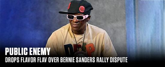 Public Enemy Drops Flavor Flav Over Bernie Sanders Rally Dispute