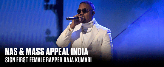 Nas & Mass Appeal India Sign First Female Rapper Raja Kumari
