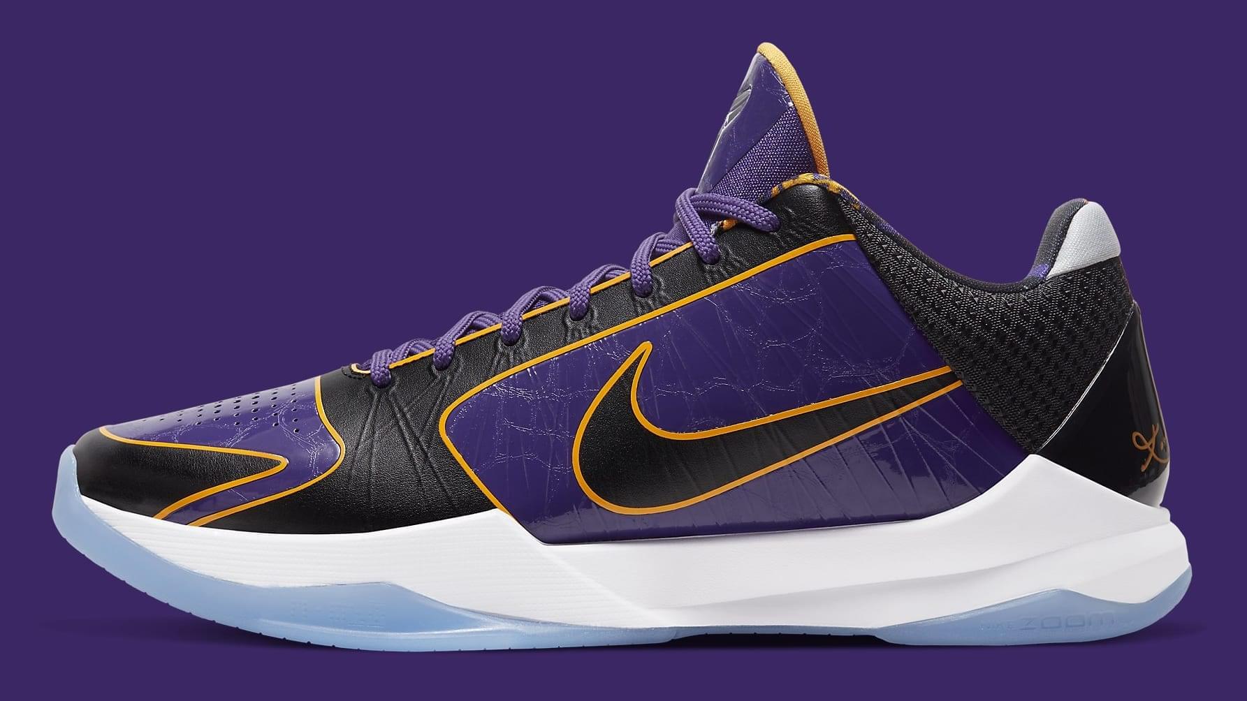 Lakers' Nike Kobe 5 Protro Drops Next