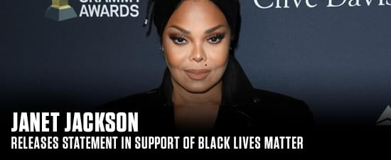 Janet Jackson Makes Releases Statement In Support of Black Lives Matter