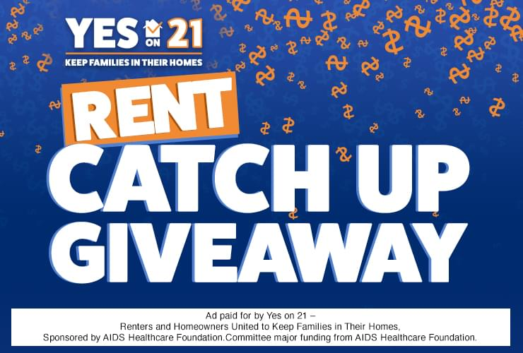 Support Prop 21 and the expansion of rent control in California by joining our sweepstakes! If you help us spread the word about this vital ballot measure you could win $1,000 to help pay your rent, on us!