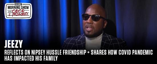 Reflects On Nipsey Hussle Friendship + Shares How Covid Pandemic Has Impacted His Family