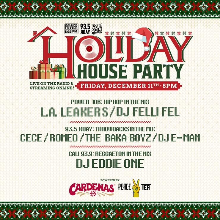 LA Holiday House Party | Powered By Peace Tea & Cardenas Market