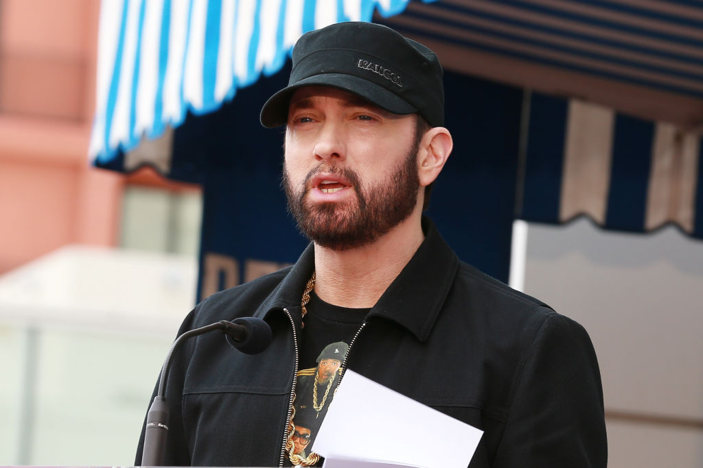 Eminem's 2005 Greatest Hits Album 'Curtain Call' Earns Historic Billboard Chart Milestone