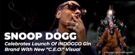 "Snoop Dogg Celebrates Launch Of INDOGGO Gin Brand With New ""C.E.O."" Visual"