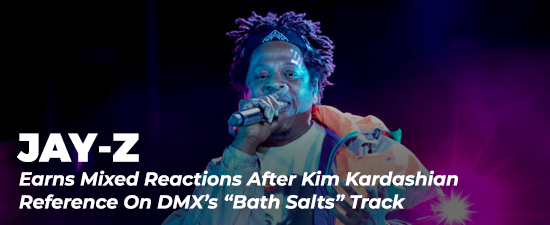 """Jay-Z Earns Mixed Reactions After Kim Kardashian Reference On DMX's """"Bath Salts"""" Track"""