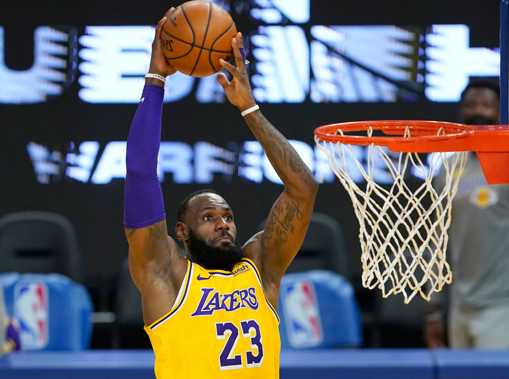 LeBron James Will Reportedly Change Back To No. 6 Jersey Following 'Space Jam' Release