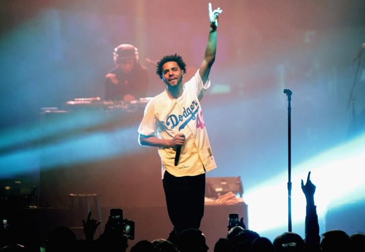 J Cole Breaks Apple Music And Spotify Records