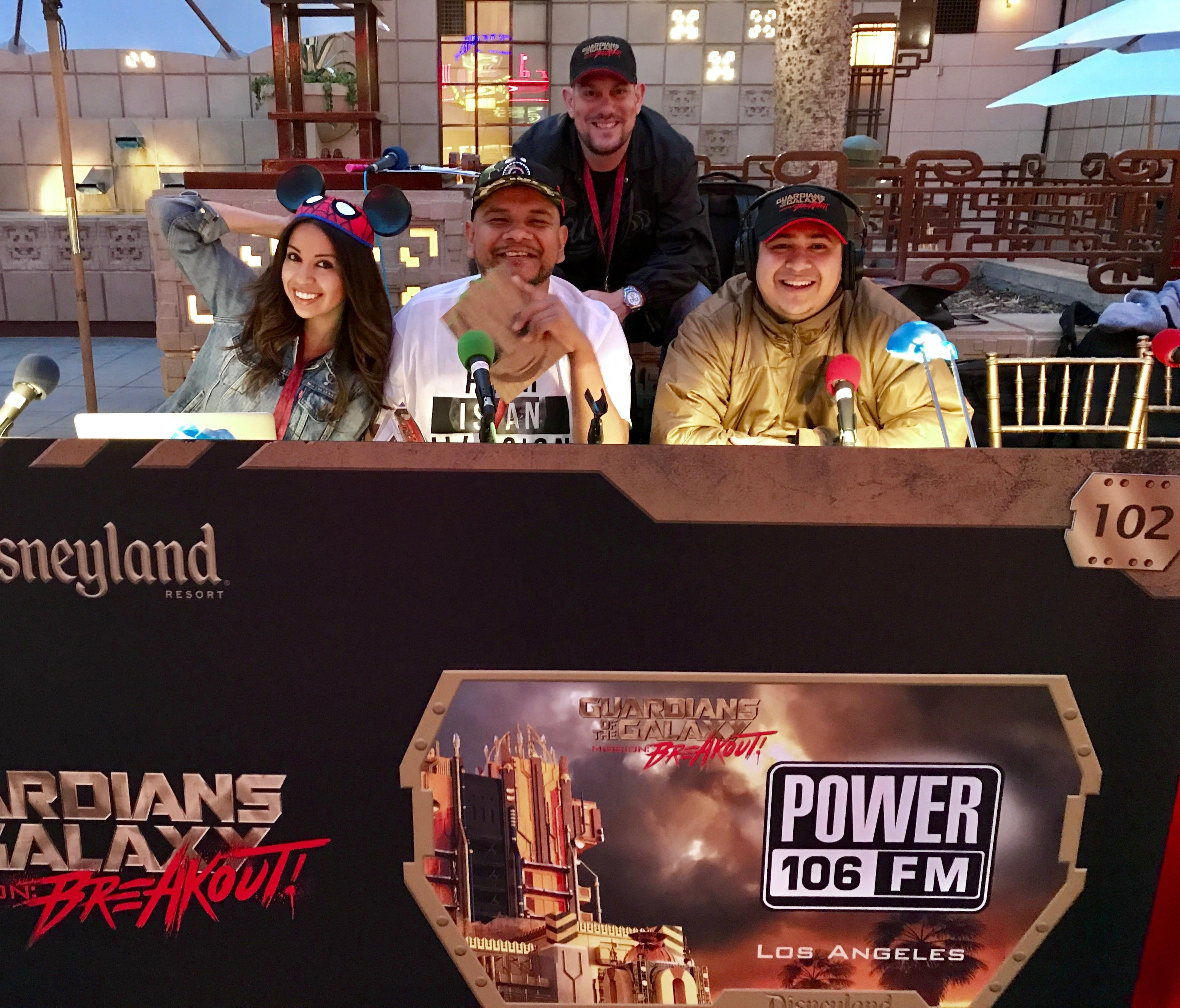 #TheCruzShow Broadcasted Live from Disneyland