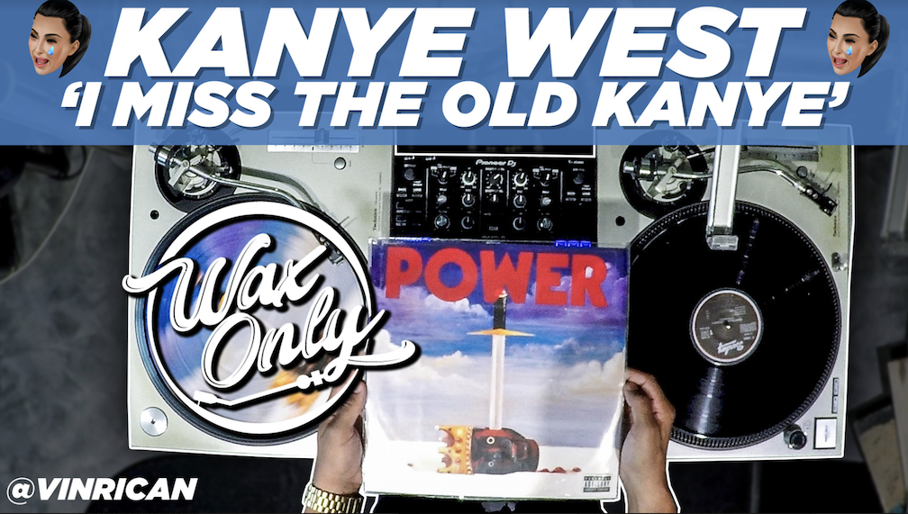 #WaxOnly: VinRican Showcases Classic Samples Used On Kanye West Tracks