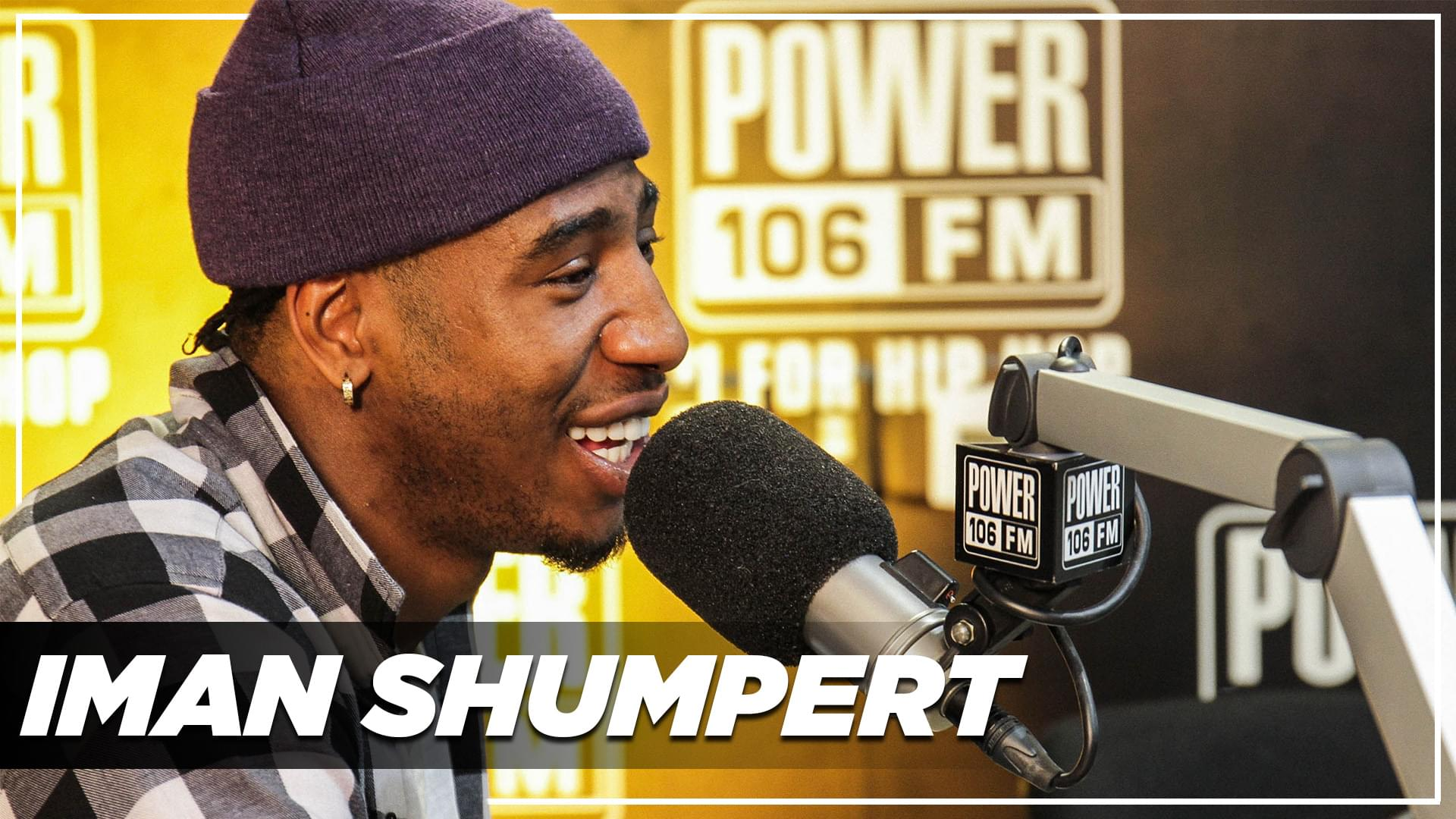 Iman Shumpert On Getting Curved By Teyana Taylor, Kanye's New Album & Making Angry Music!