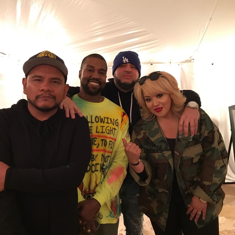 J Cruz, DJ Felli Fel, & Cece Hit Up Exclusive Kanye West Wyoming Listening Event [WATCH]
