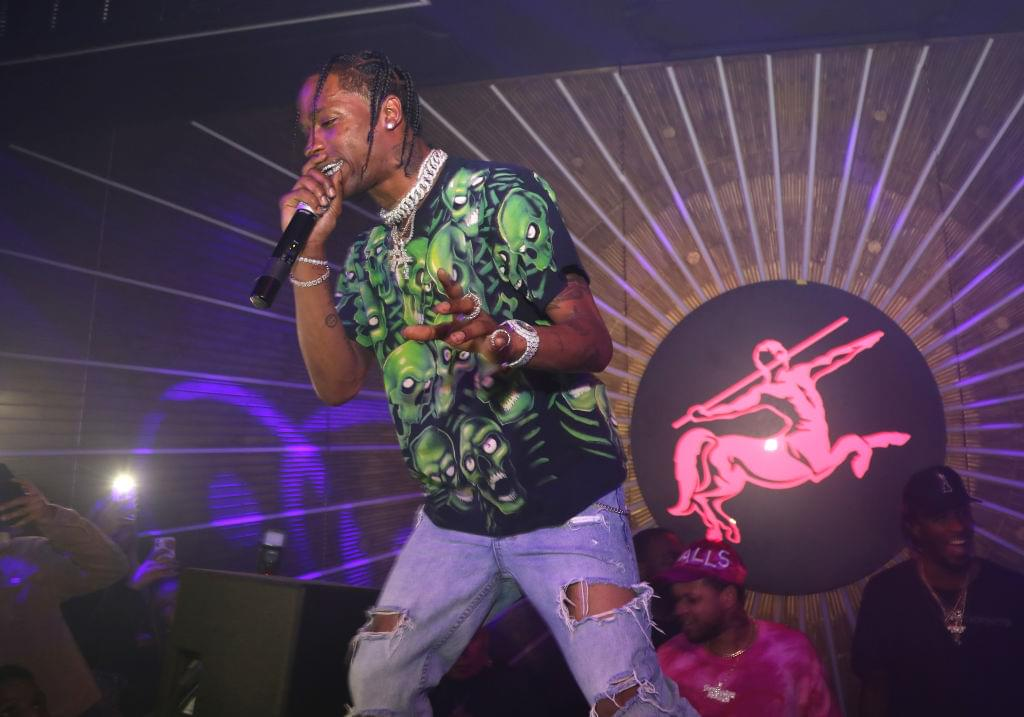 "Travis Scott's New Single ""Highest In The Room"" Breaks Spotify Record"