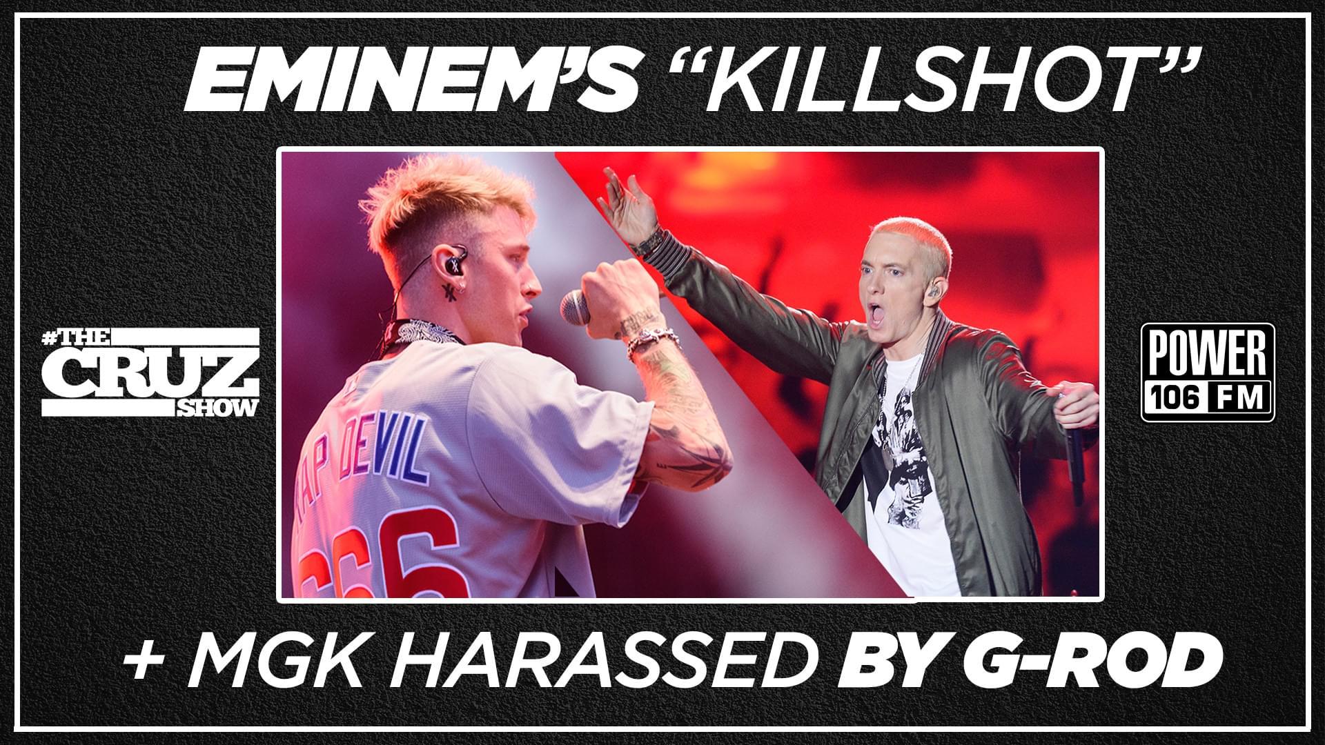 "Cruz Show + Van Latham Discuss ""Killshot"" + Actor G-Rod Harassed By MGK Crew [WATCH]"