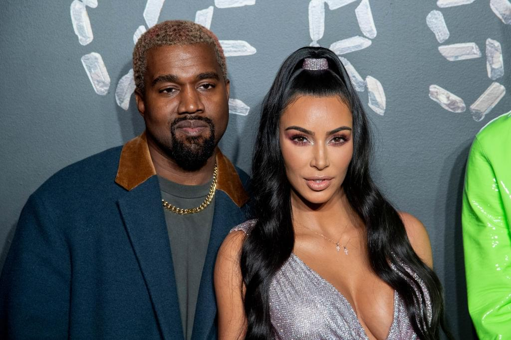 Kim & Kanye Brought Snow To Calabasas For Annual Christmas Party