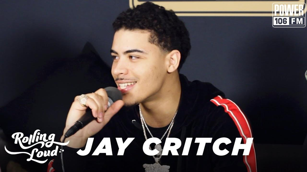 Jay Critch On How He Met Rich The Kid & Spending Christmas In Brooklyn [WATCH]