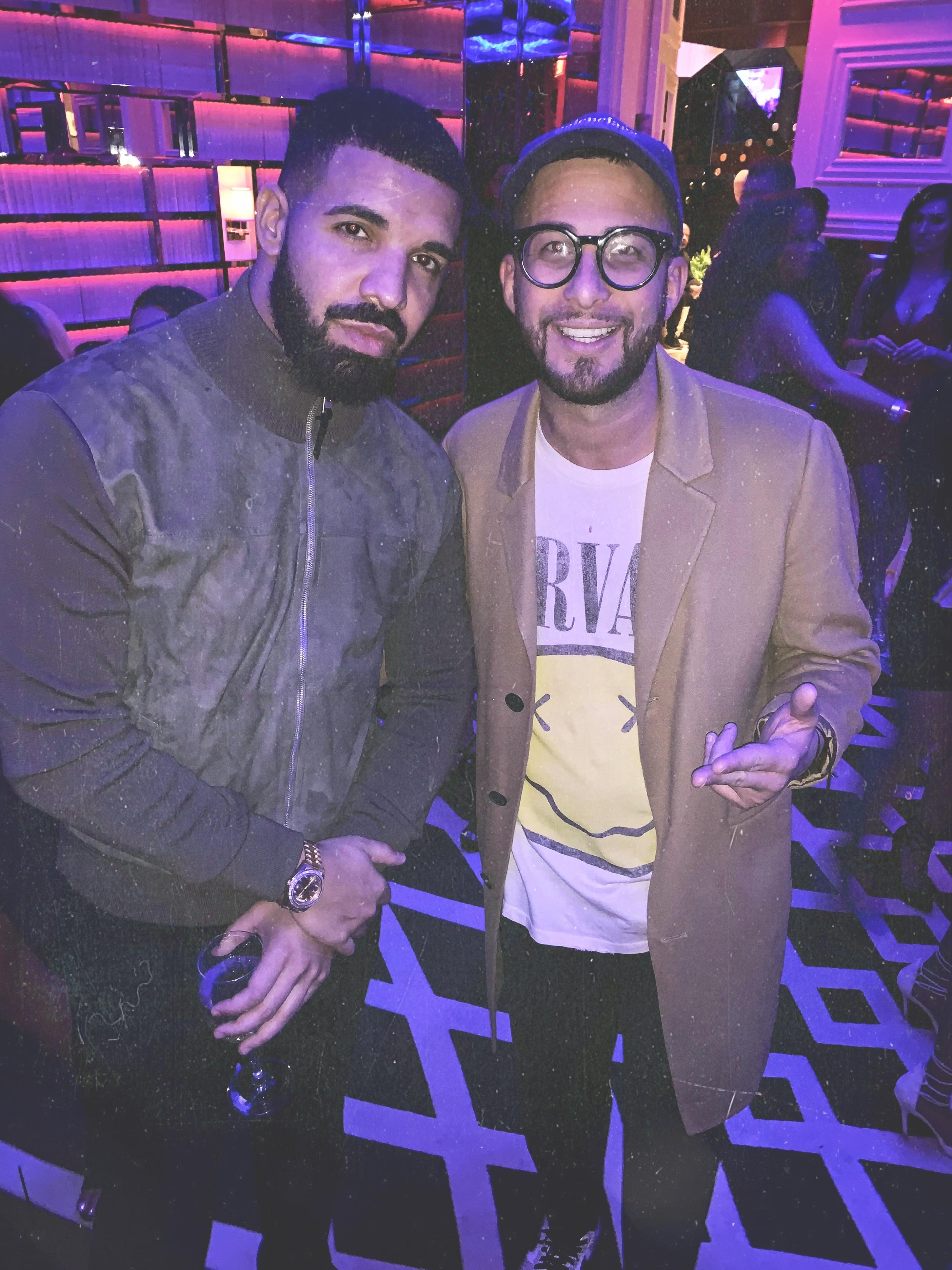 Drake Performs His Hits with Justin Credible in Las Vegas [WATCH]
