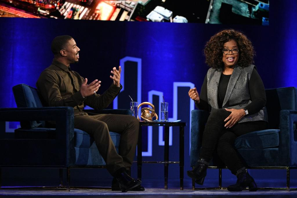 MBJ Talks To Oprah About Going To Therapy After Black Panther