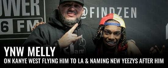 YNW Melly On Kanye West Flying Him To LA & Naming New Yeezys After Him