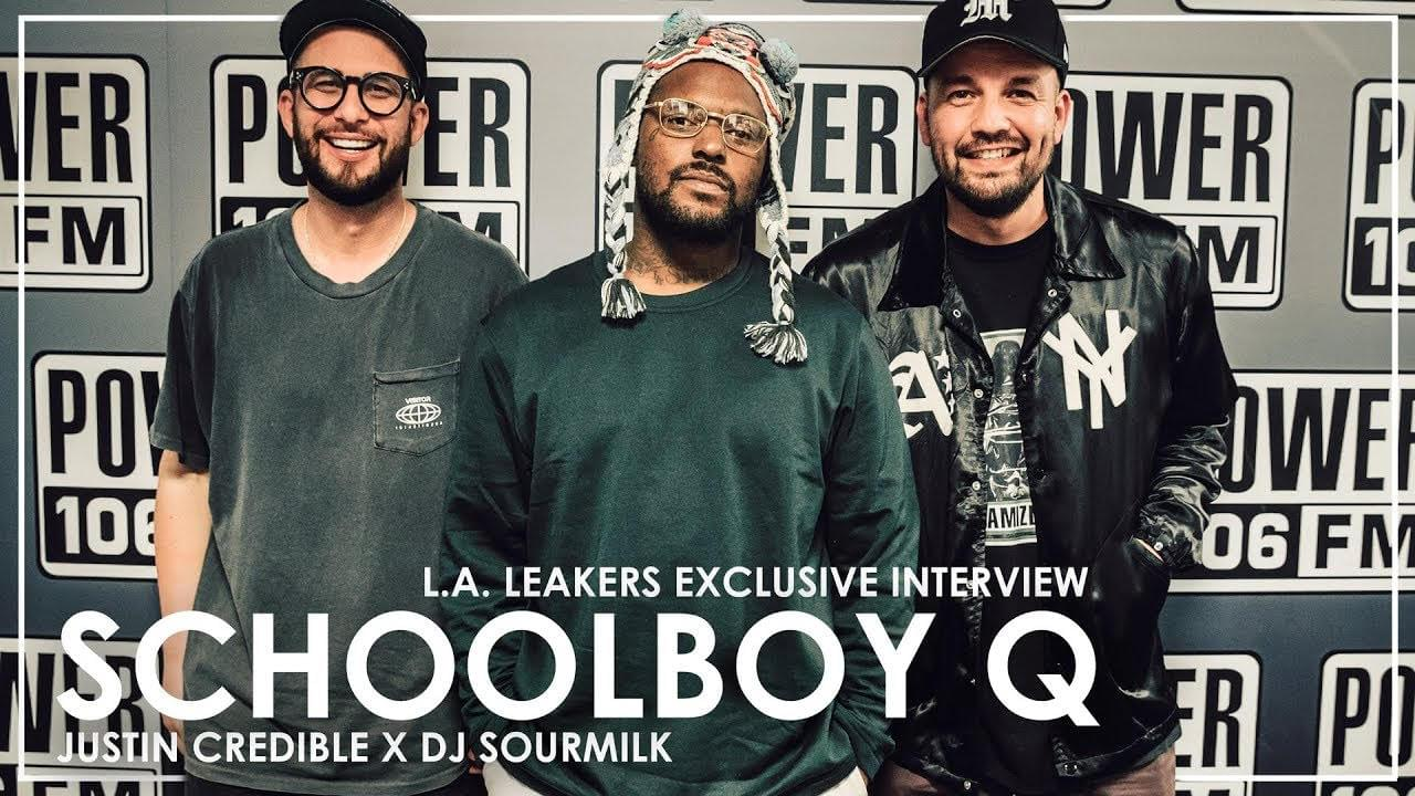 "Schoolboy Q On Working w/ Travis Scott on ""CHopstix"" & The Passing of Nipsey Hussle"