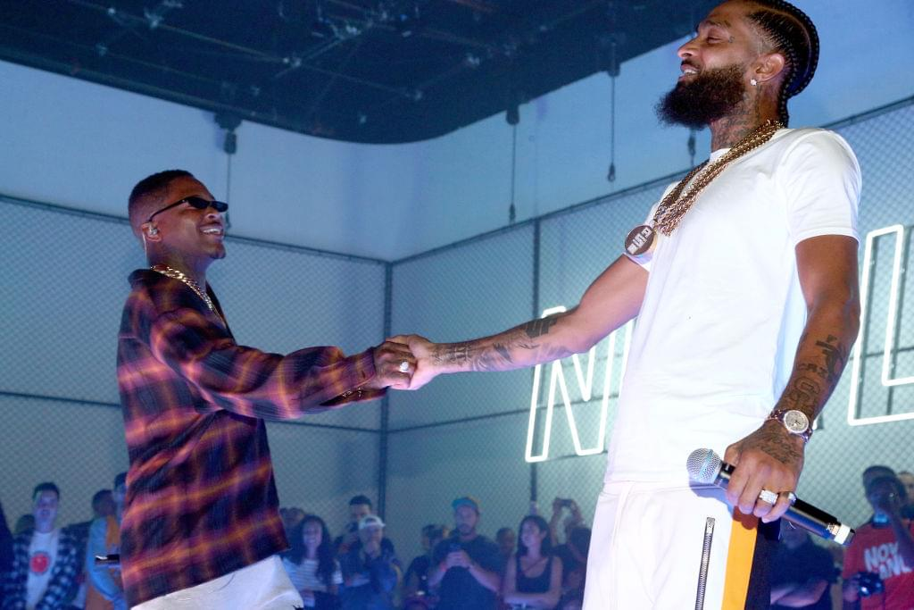 YG Dedicates Coachella Set To Nipsey Hussle + Ariana Grande Brings Out Diddy, Mase & *NSYNC During Weekend 1