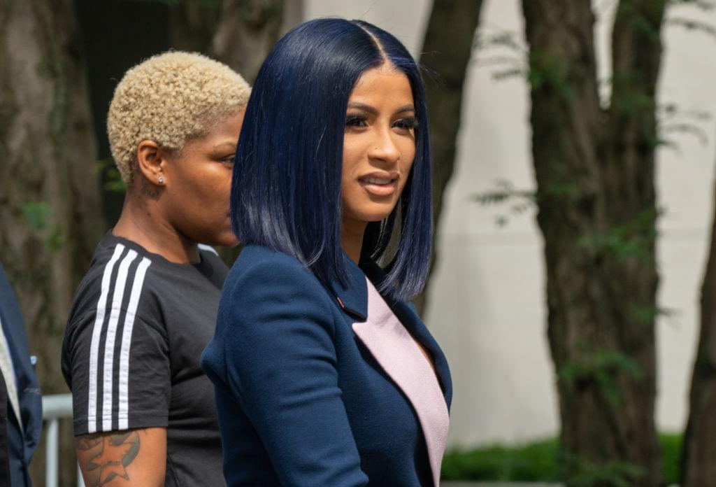 Cardi B Calls Out The NYPD