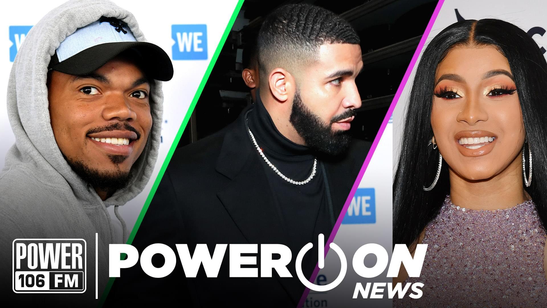 "#PowerOn: Cardi B Endorses Bernie Sanders 2020 + Drake Pulls Moves on Chris Brown In ""No Guidance"" Video"