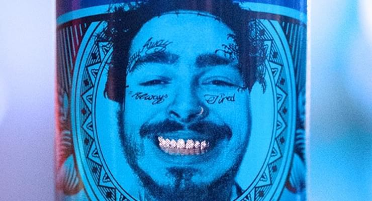 Post Malone Now Has His Face On A Beer Can