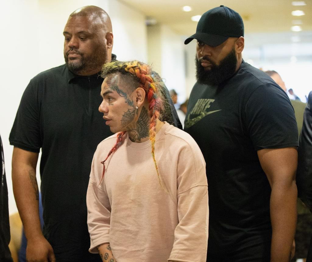 Tekashi 6ix9ine Admits To Abusing His Baby Mama For Years