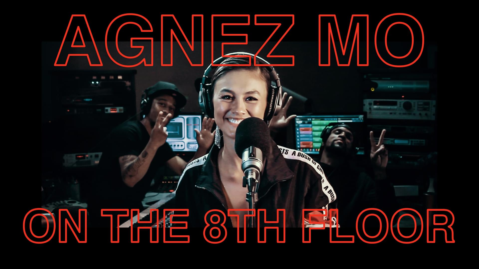 """Agnez Mo blesses us with """"Damn I Love You"""" LIVE #OnThe8thFloor [WATCH]"""