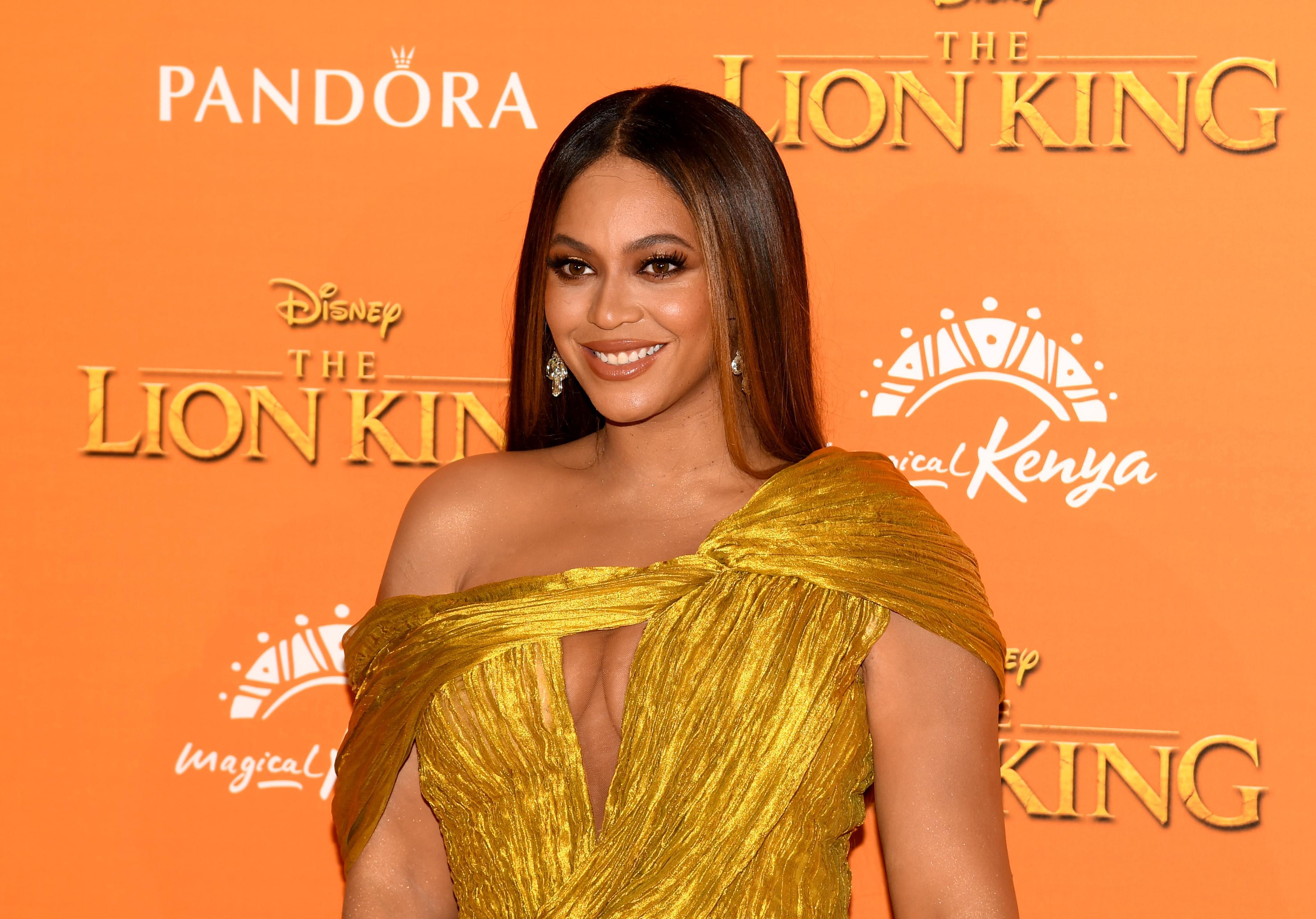 Beyonce's Wax Figure Gets A Glow Up