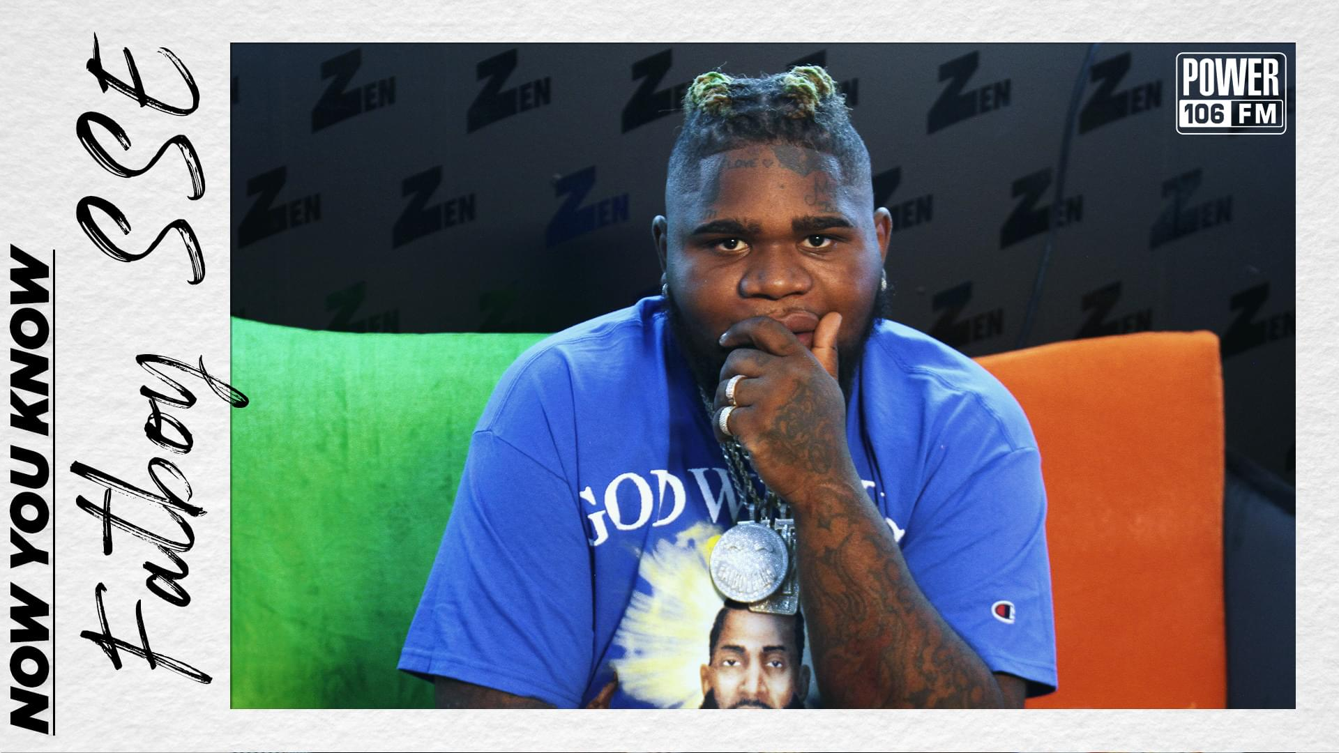 FatBoy SSE Reveals Top 5 & Working w/ Lil Tjay & Acting Debut In Master P's Movie [WATCH]