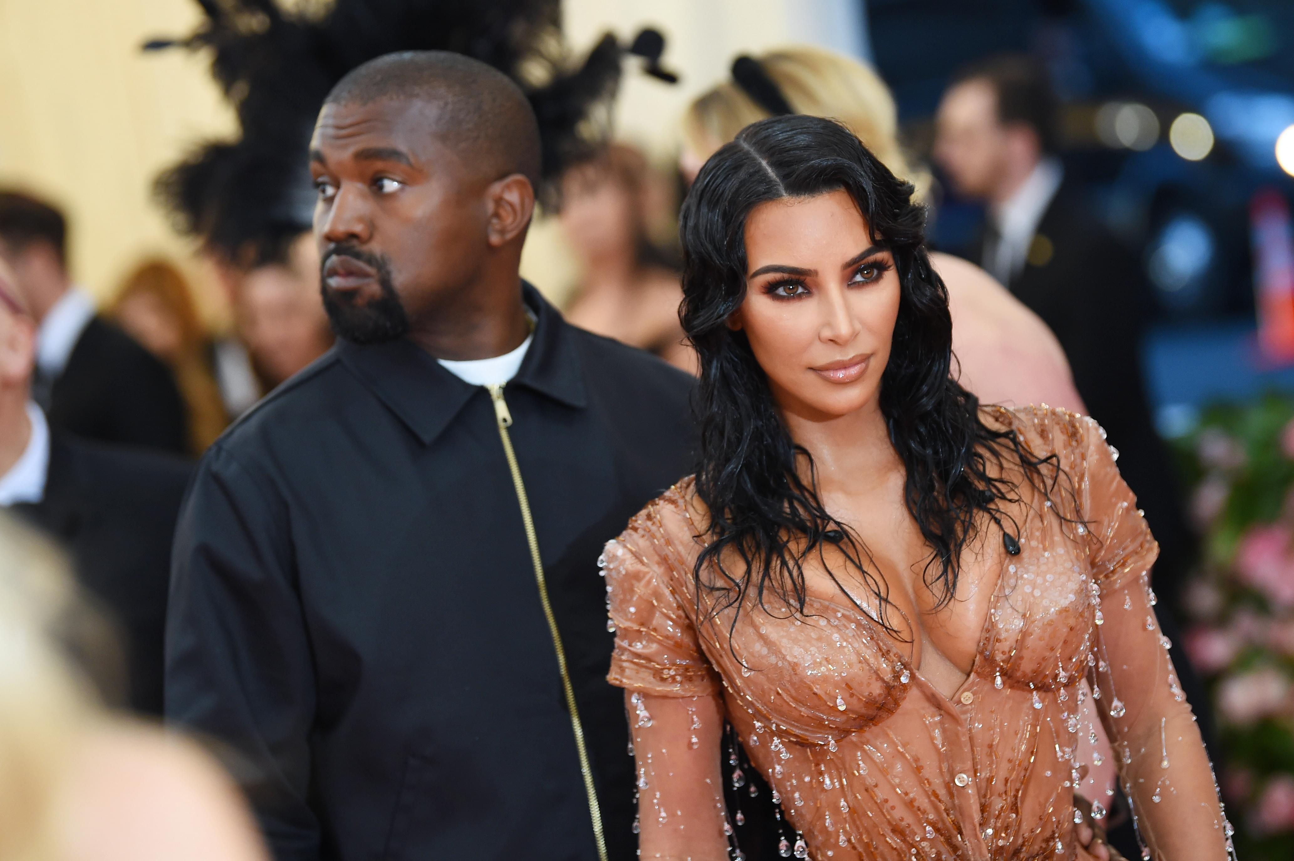 """Kim & Kanye Receive Warning For """"Animal Harassment"""" From Wyoming Wildlife Officials"""