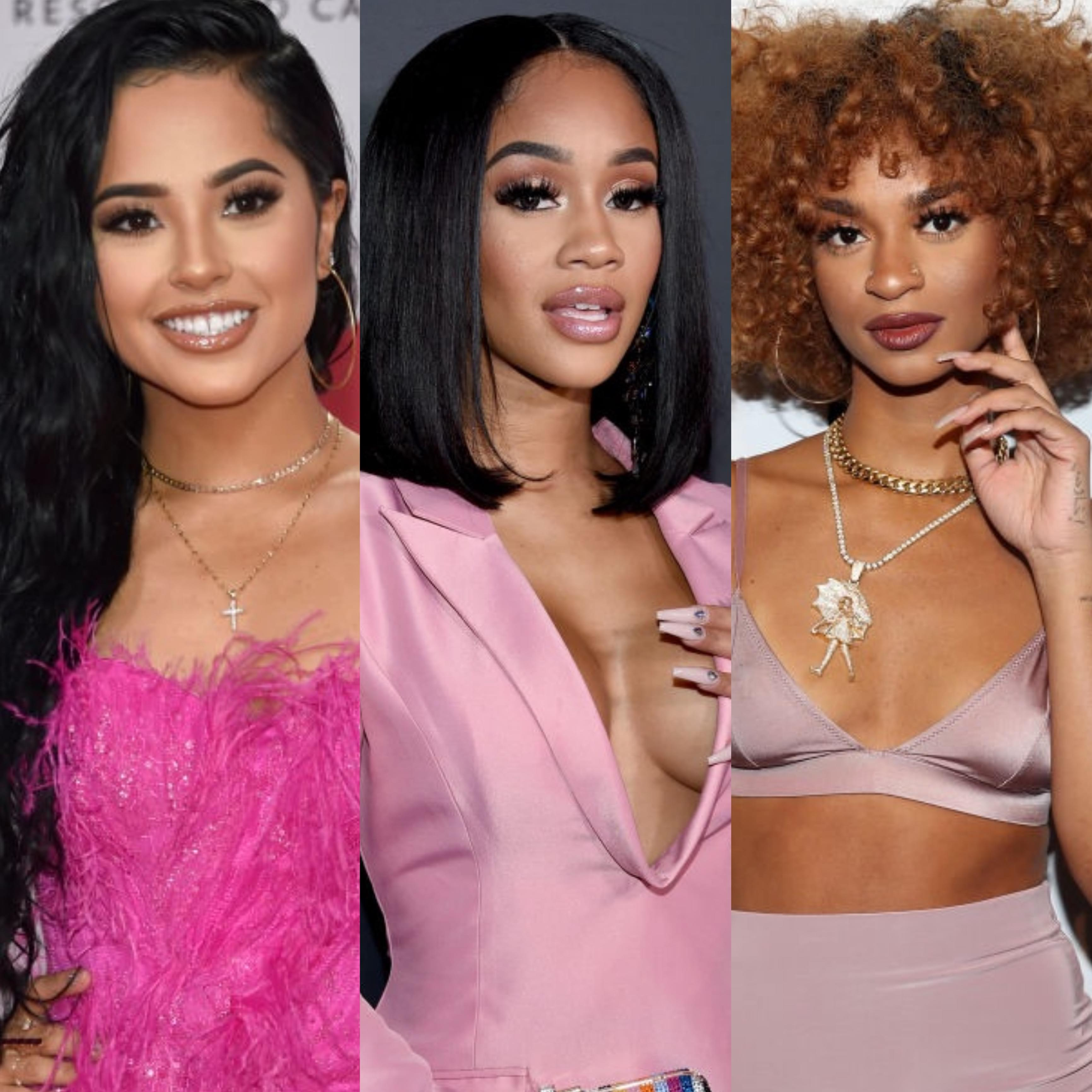 """Saweetie, Becky G And Melii Drop A NEW """"My Type"""" Remix"""
