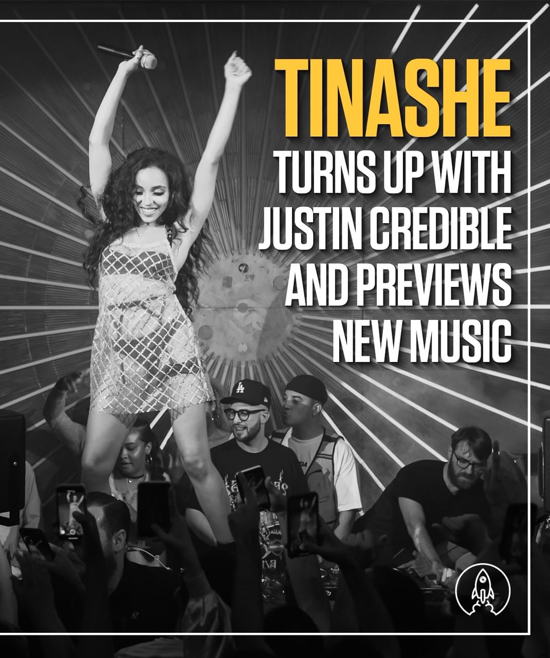 Tinashe Turns up w/ Justin Credible & Previews New Music [WATCH]