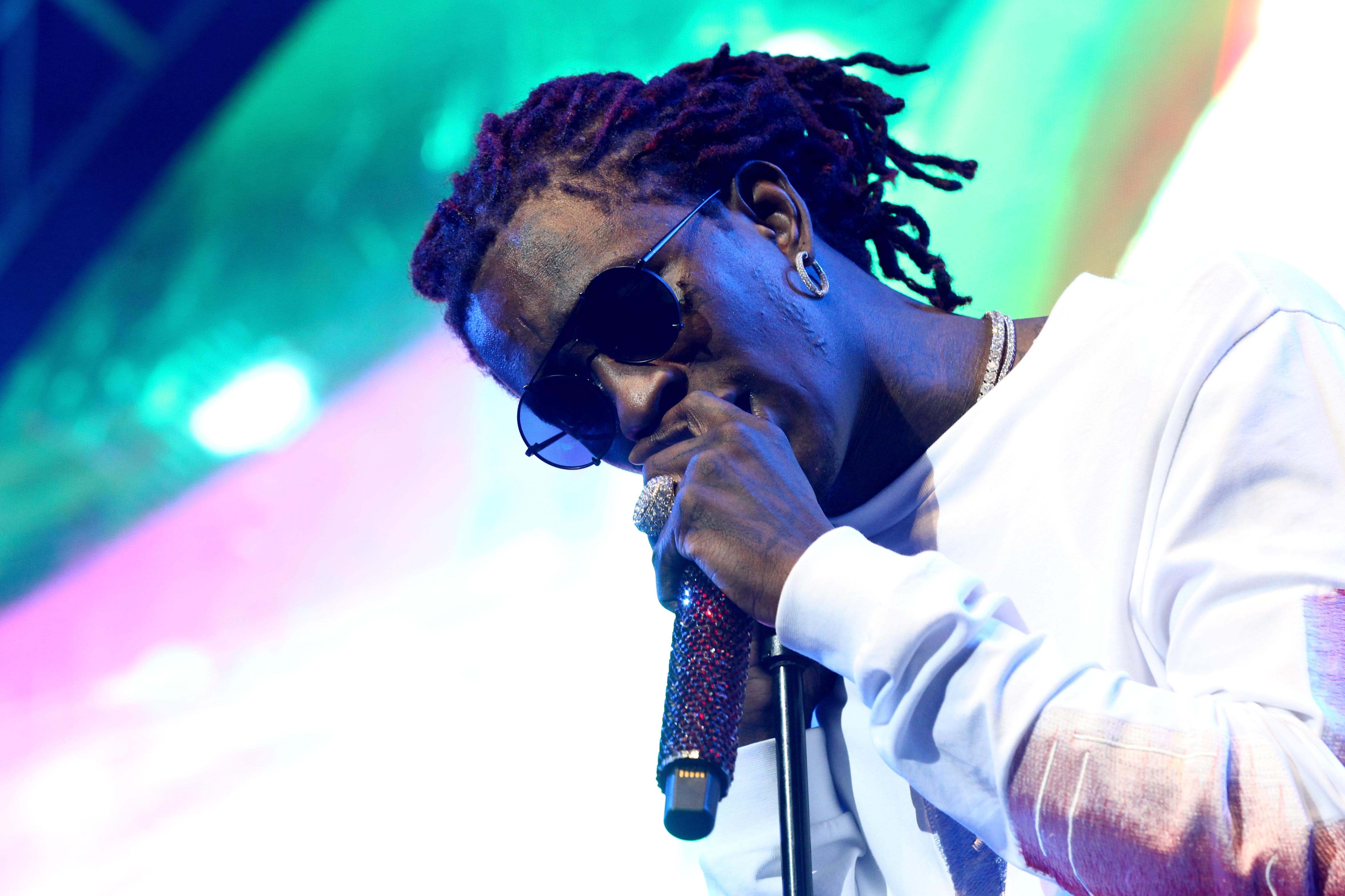 "Young Thug & Gunna Perform At Jimmy Fallon's ""Tonight Show"""