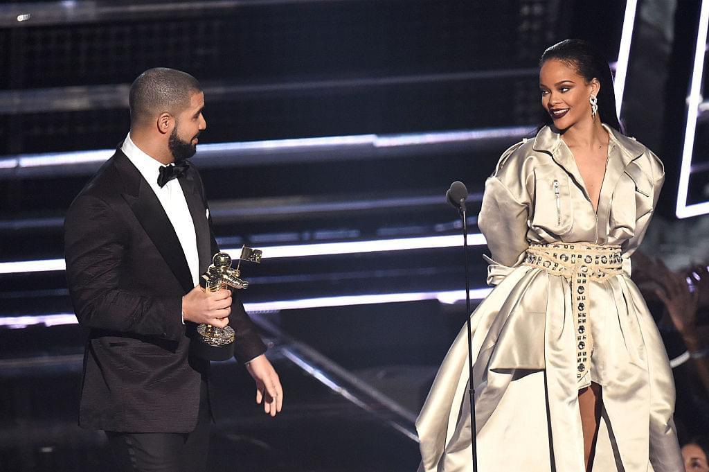 Rihanna Pulled Up On Drake At His Early B-Day Shindig