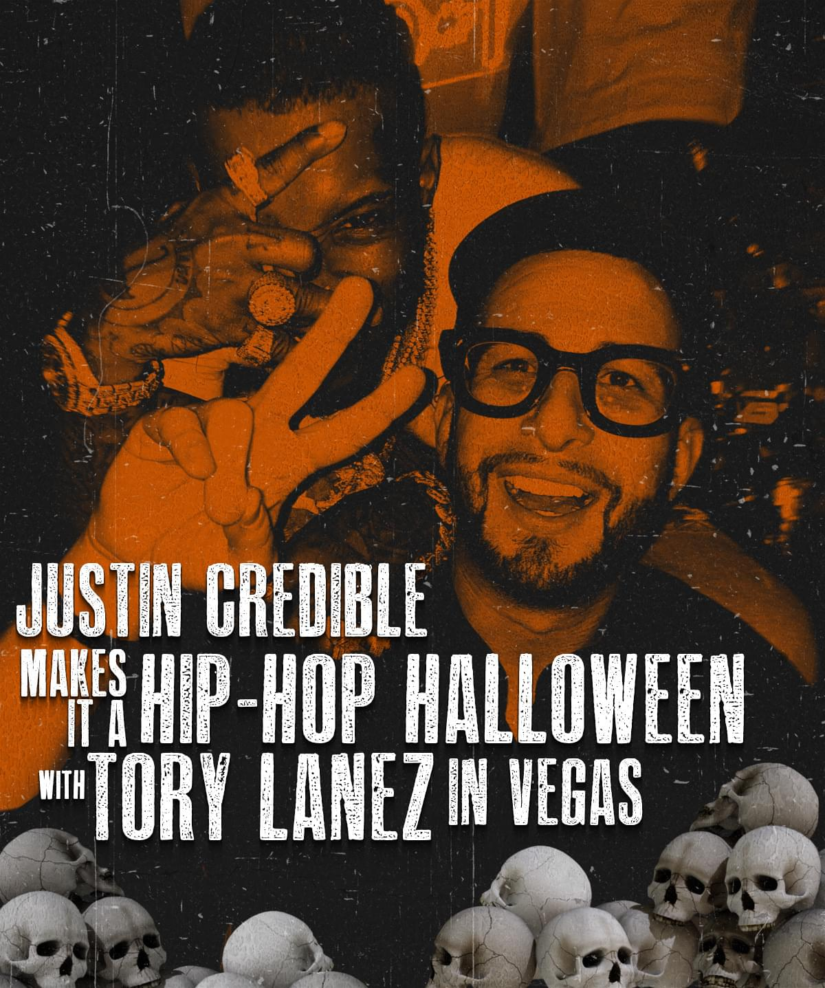 Justin Credible Makes It a Hip Hop Halloween w/ Tory Lanez [WATCH]