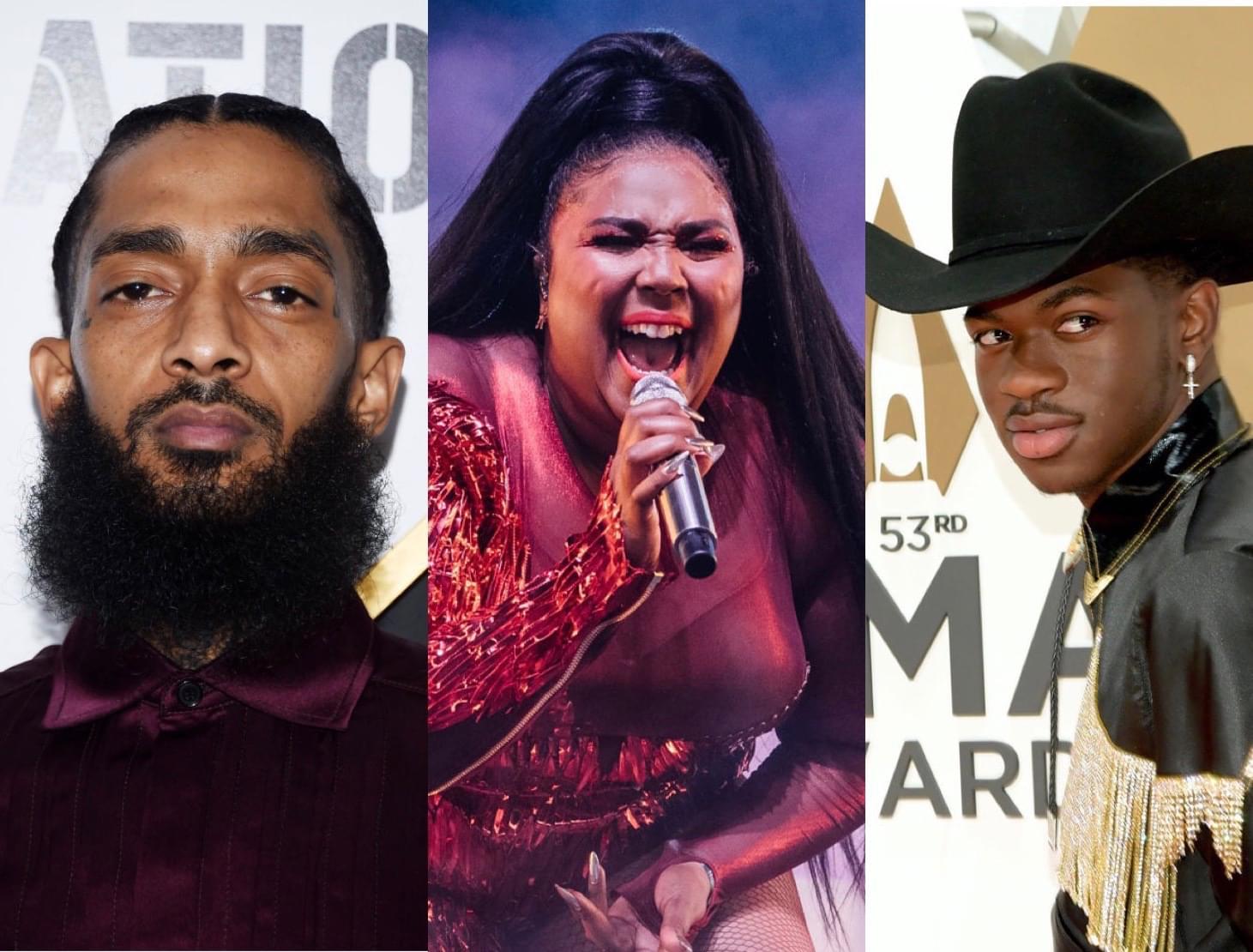 2020 Grammy Noms: Nipsey Hussle, Lizzo, Lil Nas X + MORE