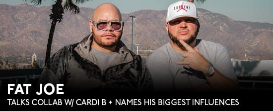 Fat Joe Names LL Cool J & Heavy D as Biggest Inspo + Growing Up Where Hip Hop Was Born
