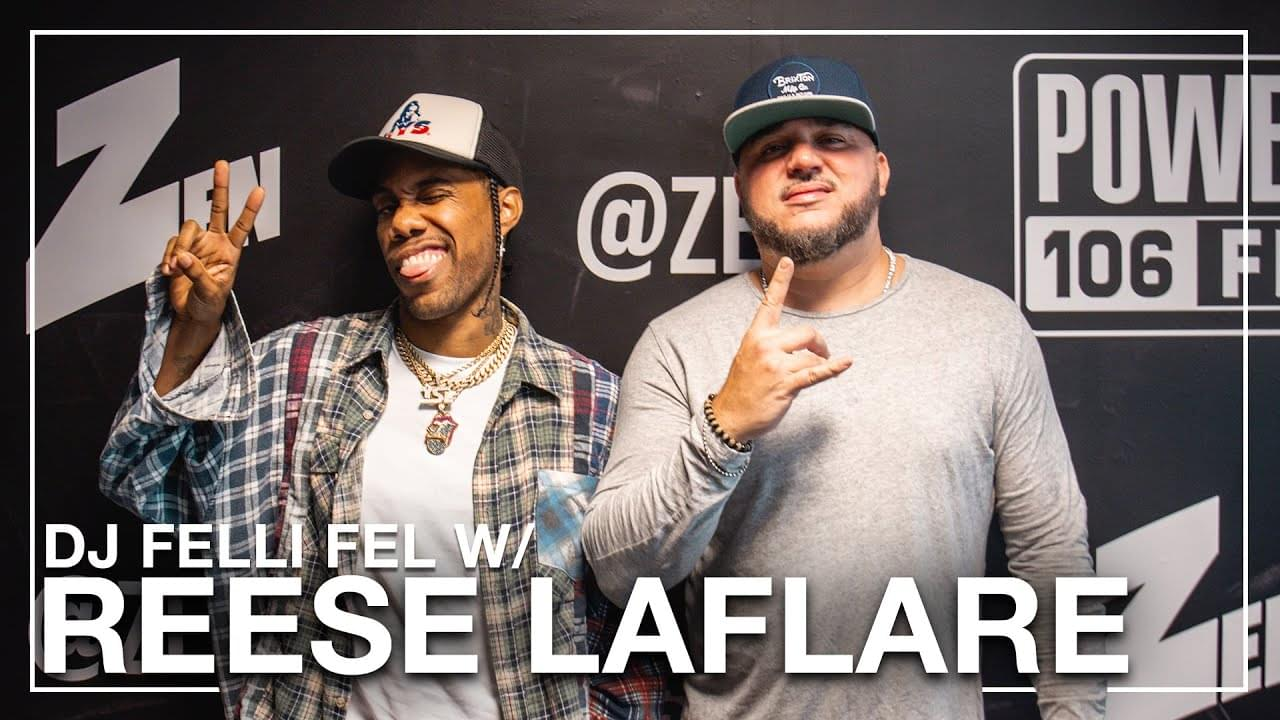 Reese LAFLARE On Dom Kennedy Getting Him To Rap, Skateboarding & Discovering Lil Uzi Vert [WATCH]