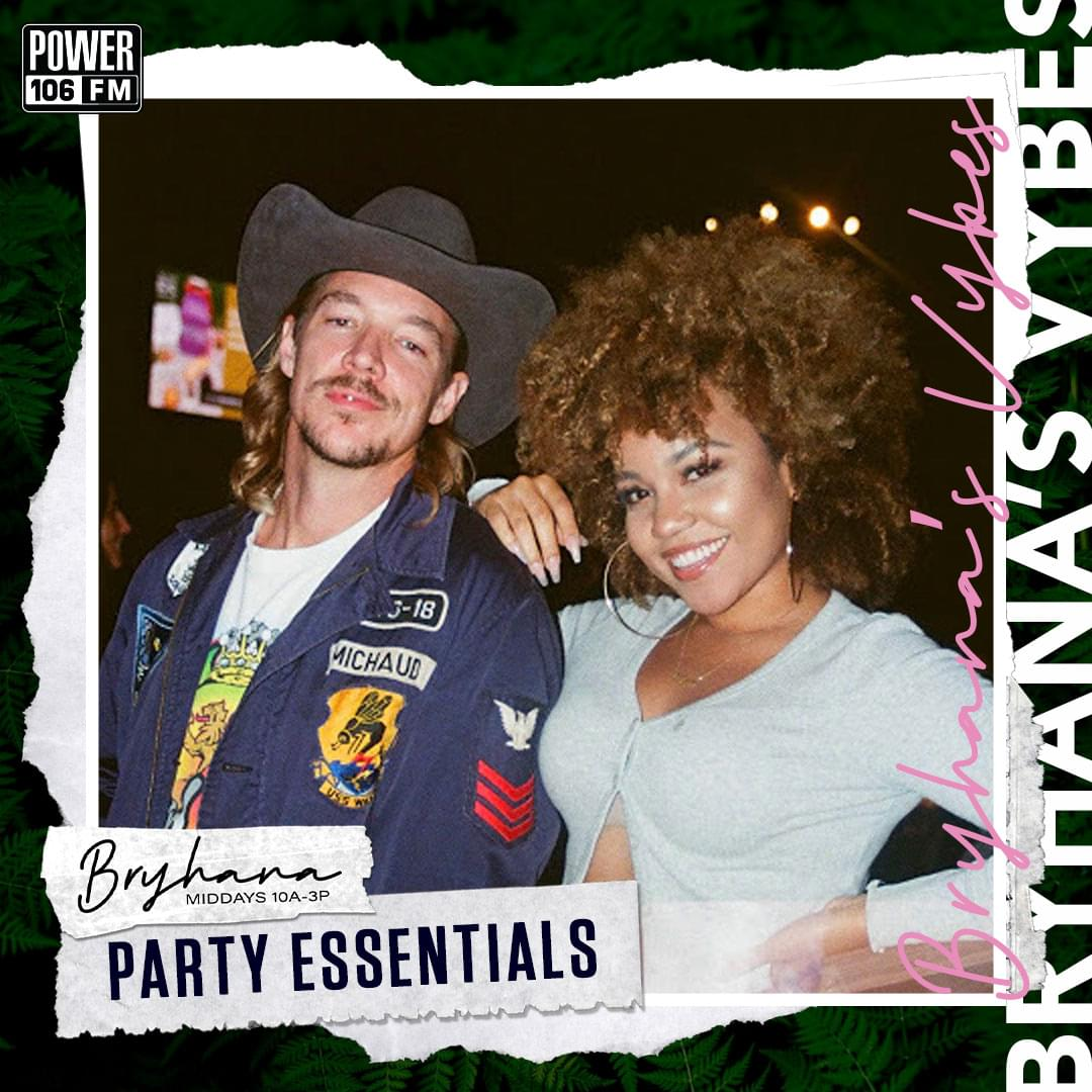 Bryhana's Vybes Playlist— Party Essentials Feat. Diplo, The Game, Roddy Ricch + MORE!