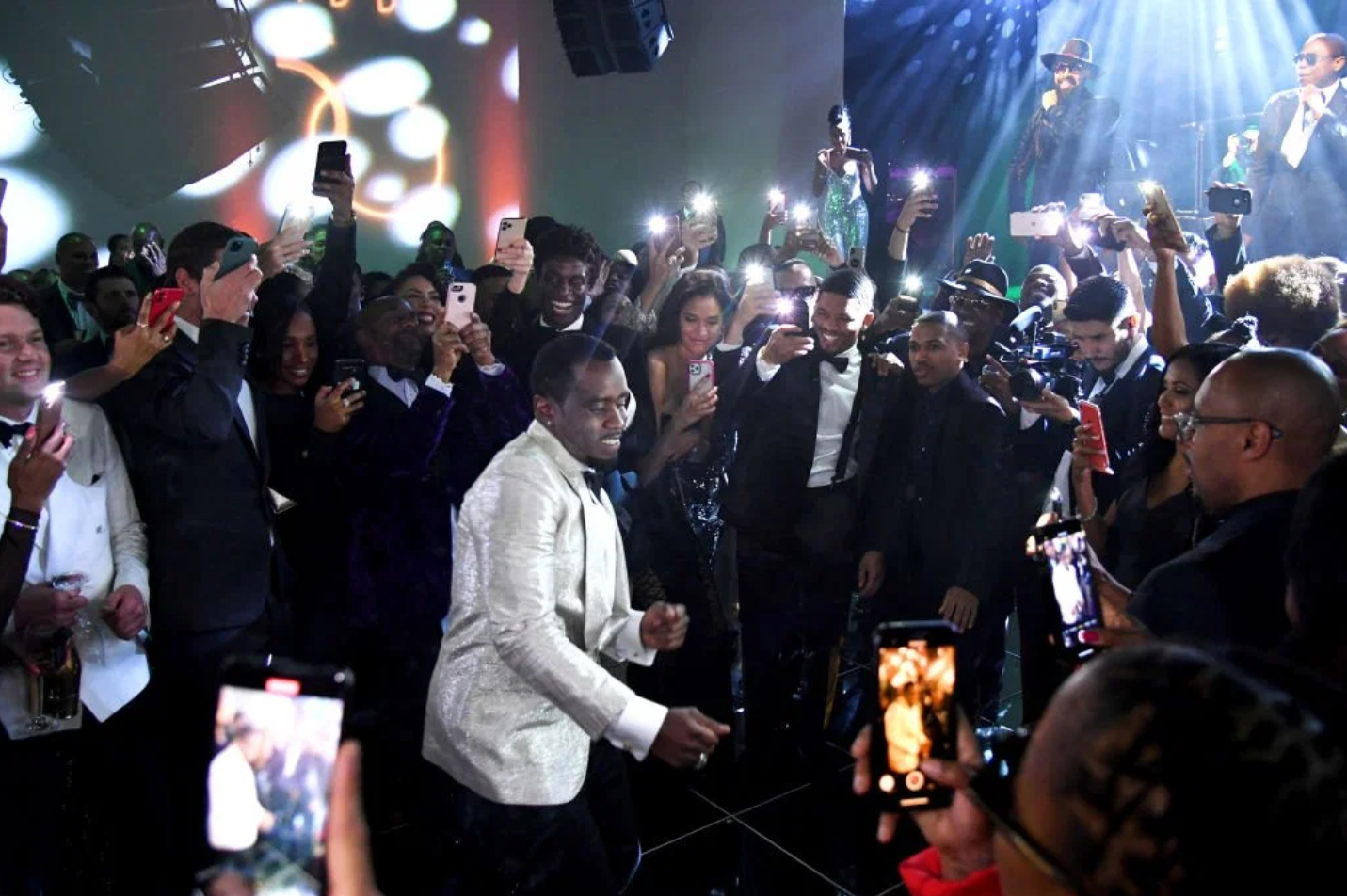 Diddy Celebrates His 50th Birthday With Kanye West And Jay-Z