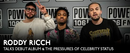 Roddy Ricch Talks Debut Album, His Recording Process & The Pressures Of Celebrity Status