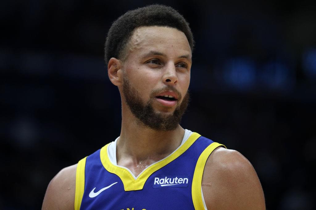 Steph Curry Says Alleged Nudes Leaked Online Are Fake + Twitter Reacts