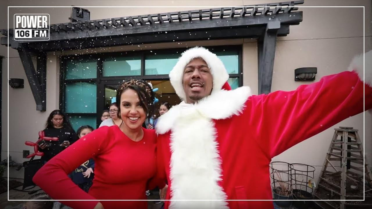 Nick Cannon Mornings & ZEN Give Back With Custom Kicks & Cuts For Variety Boys & Girls Club