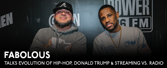 Fabolous Talks Evolution Of Hip-Hop, Donald Trump & Streaming vs. Radio